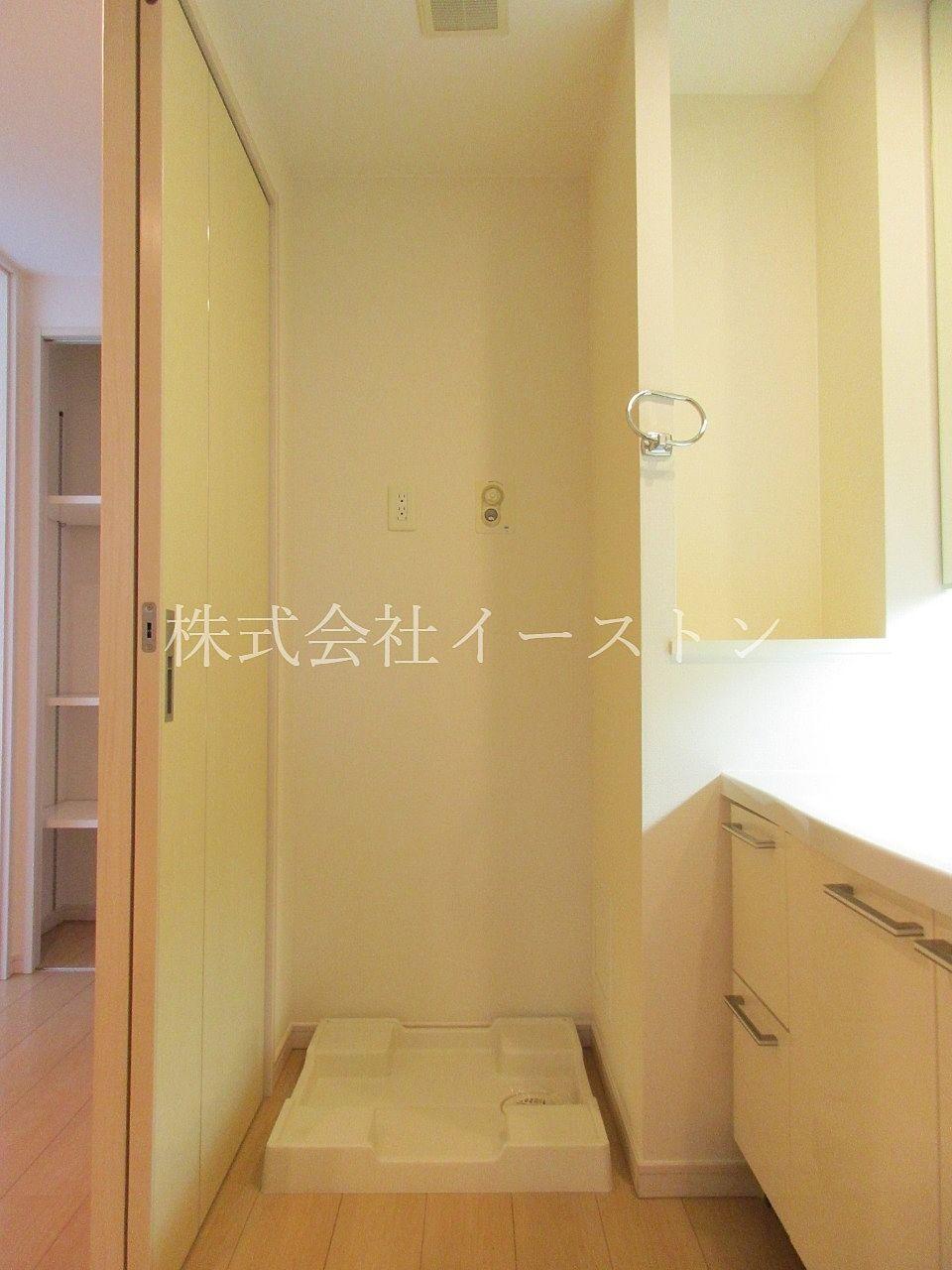 室内洗濯パン付きで桜島の灰対策◎