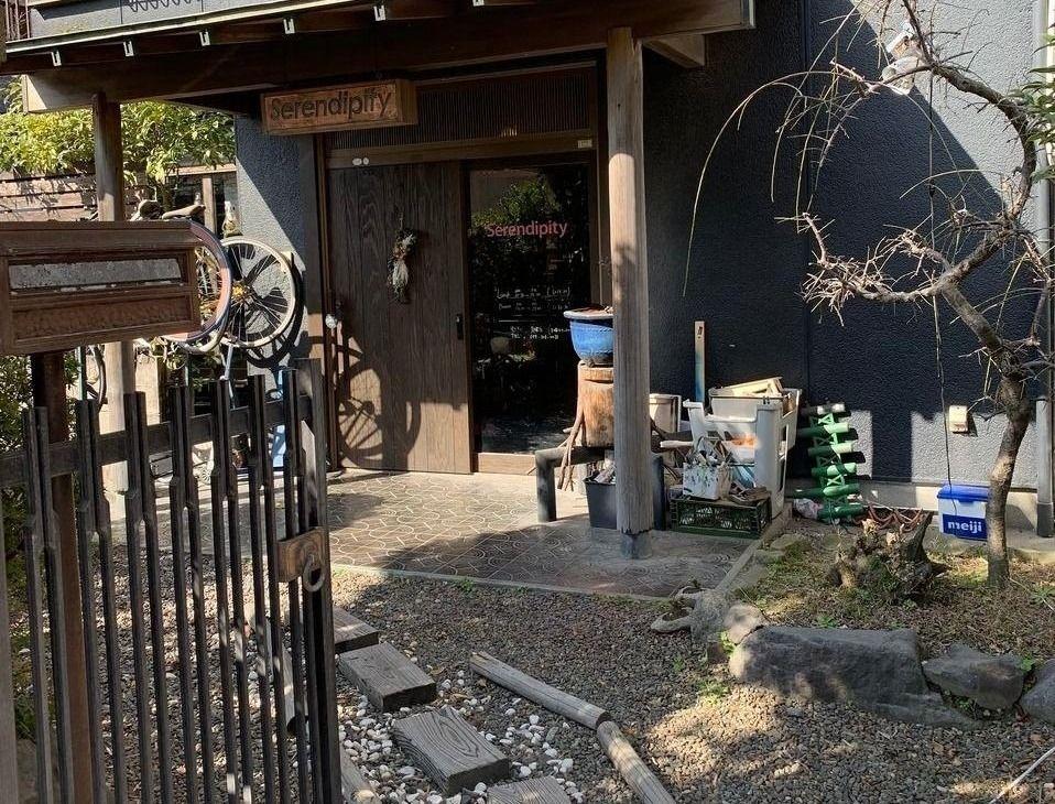 アートギャラリー、古民家カフェ、落ち着いた不インキ、鹿児島県鹿児島市下荒田4-44-8