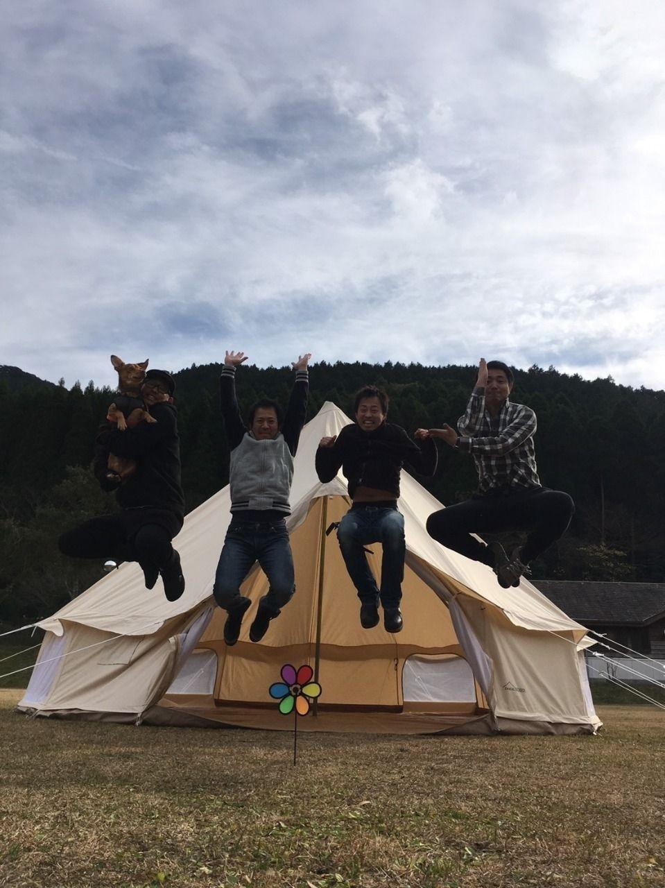 忘年キャンプinオートキャンプ森のかわなべ